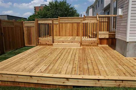 Simple Wood Deck Designs