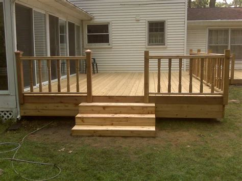 Simple Wood Deck Plans