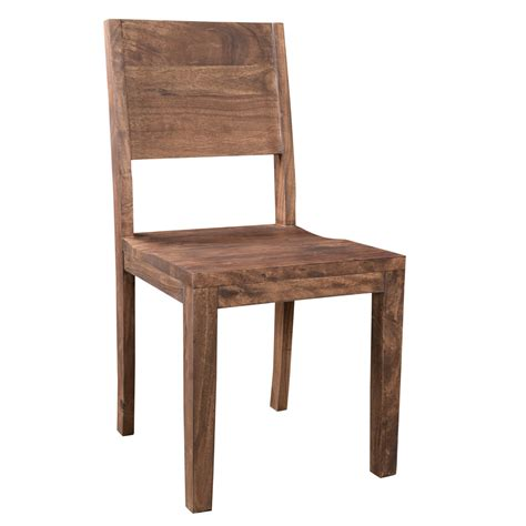Simple Wood Dining Chairs