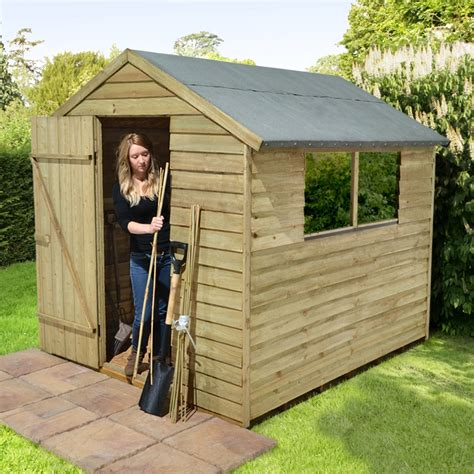 Simple Wood Shed Construction