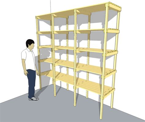 Simple Wood Shelving Plans