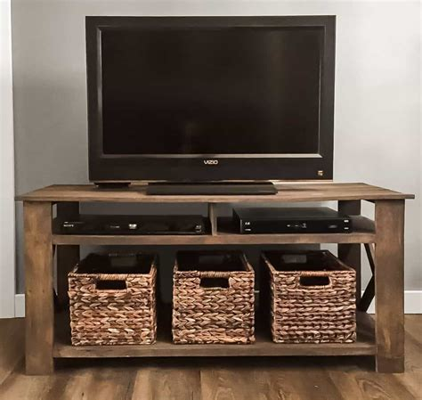 Simple Wood Tv Stand DIY