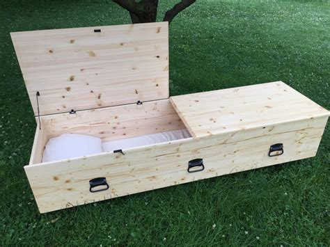 Simple Wooden Coffin Plans Pine