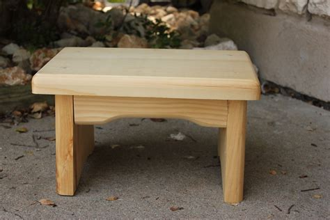 Simple Wooden Footstool Plans