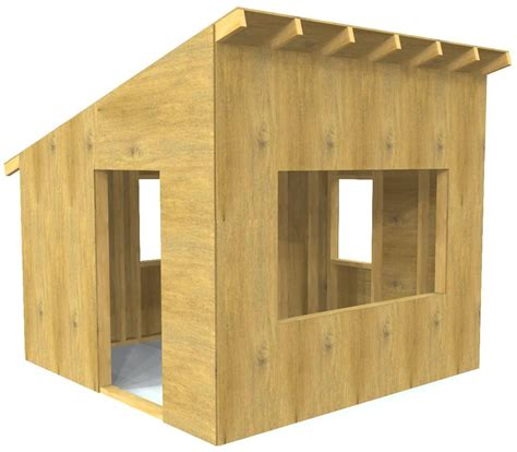 Simple Wooden Playhouse Plans