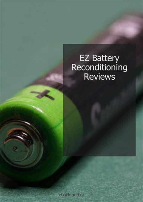 Simple tips to ez battery reconditioning course free get free