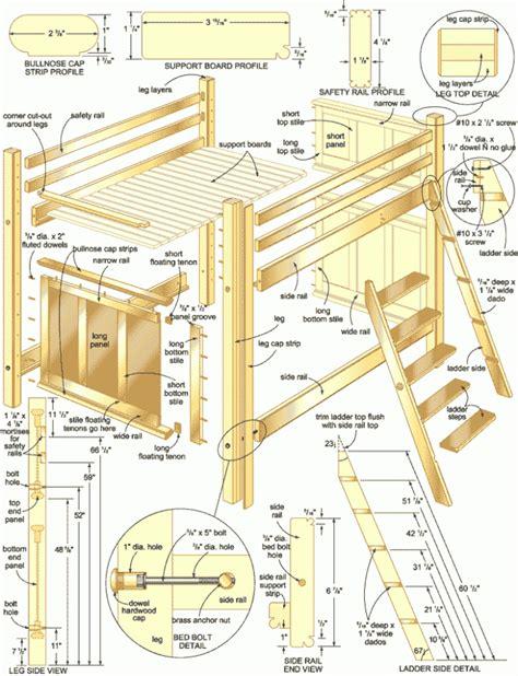 Simple-Bunk-Bed-Design-Plans