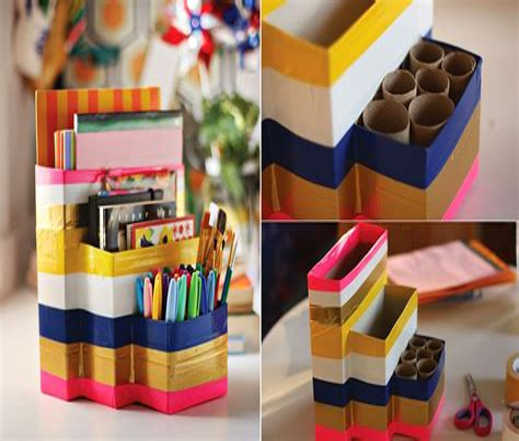Simple-Diy-Desk-Organizer