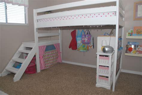 Simple-Diy-Twin-Loft-Bed
