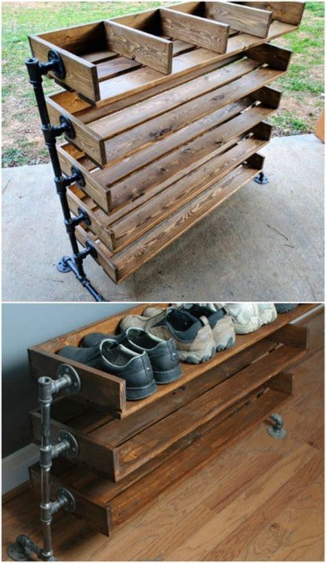 Simple-Diy-Wooden-Shoe-Rack