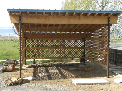 Simple-Firewood-Storage-Shed-Plans
