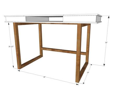 Simple-Modern-Desk-Plans