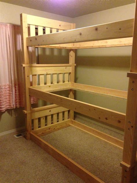 Simple-Triple-Bunk-Bed-Plans