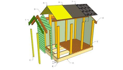 Simple-Wood-Playhouse-Plans