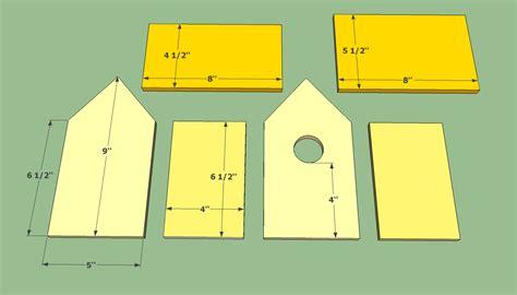 Simple-Wooden-Bird-House-Plans
