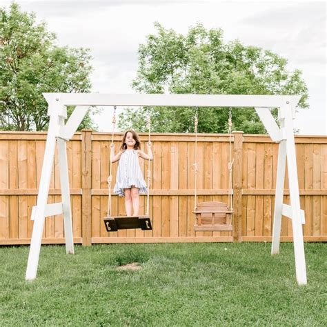 Simple-Wooden-Swing-Set-Plans