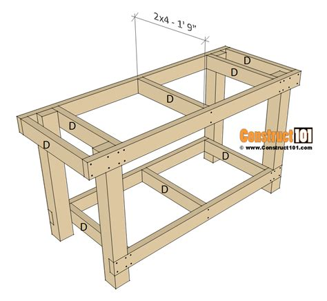 Simple-Workbench-Free-Plans