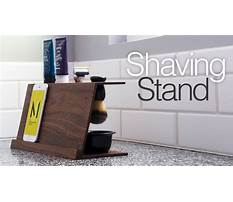 Best Simple diy shaving stand easy woodworking projects