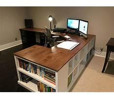Best Simple homemade computer desk