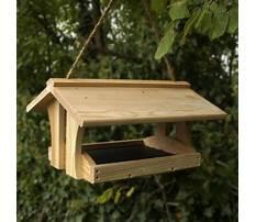 Best Simple wood bird feeders