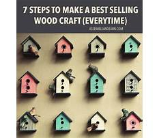 Best Simple wood crafts to make and sell