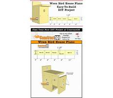 Best Simple wren birdhouse plans