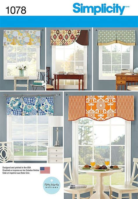 Simplicity Sewing Patterns For Valances