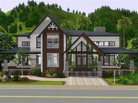 Sims-3-House-Plans-Free