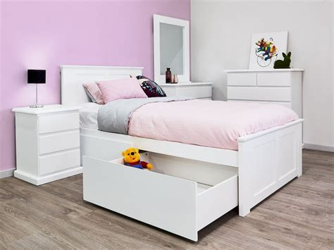 Single Bed Frame With Storage Diy With Jars
