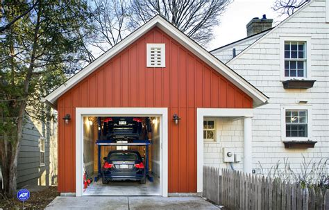 Single Car Attached Garage Plans