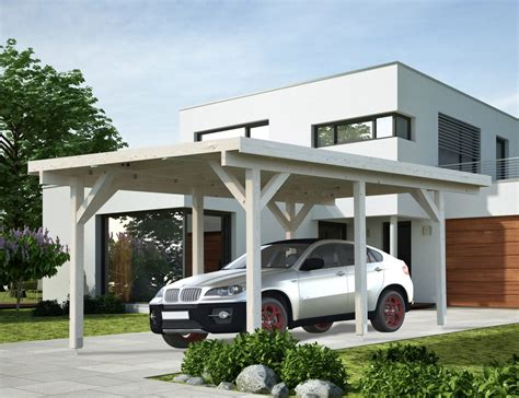 Single Car Carport With Flat Roof Plans