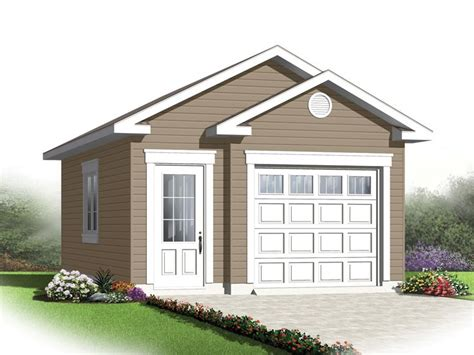 Single Car Garage Design Plans