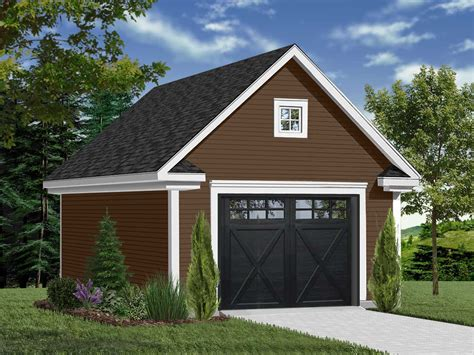 Single Car Garage House Plans