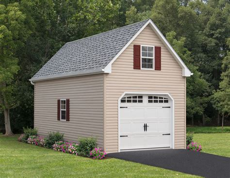 Single Car Garage Plans With Loft