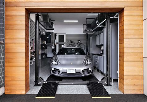Single Car Garage Storage Plans