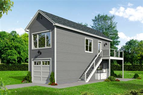 Single Car Garage With Apartment Above Plans And Carport