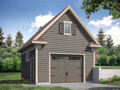 Single Garage Plans Ukiah