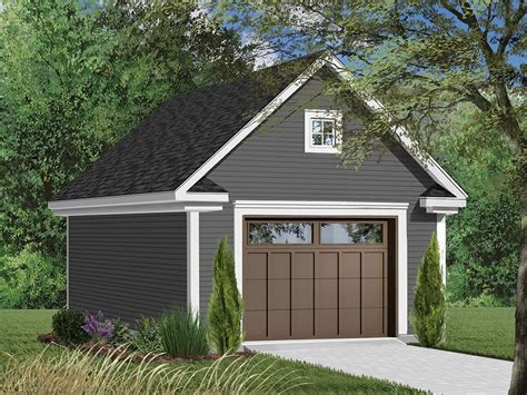 Single Garage Plans With Loft