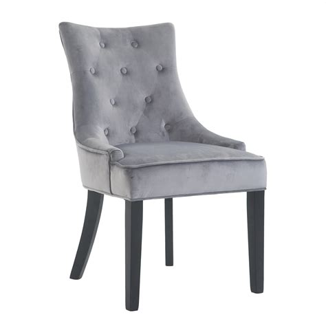 Single Grey Dining Chair