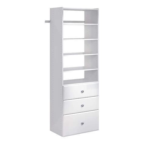 Single Tower Closet Organizer