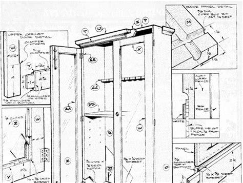 Single-Gun-Cabinet-Plans
