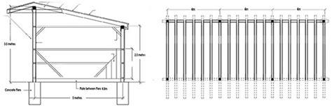 Single-Slope-Pole-Barn-Plans