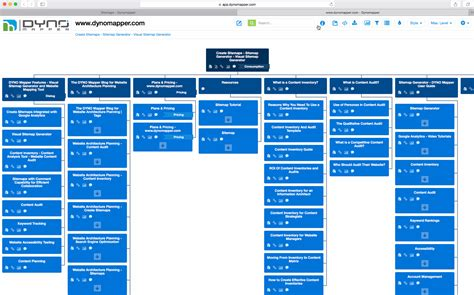 Site Map Generator Tool