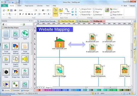 Site Map Software