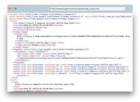 Sitemap xml template Image
