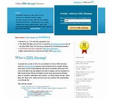 Best Sitemap xml format online