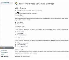 Best Sitemap xml formatting tags