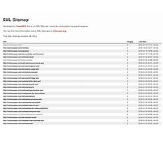 Best Sitemap xml sample