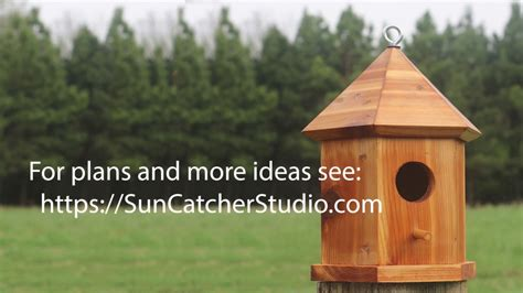 Six Sided Bird House Plans