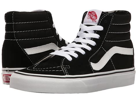 Sk8-Hi Black White Skate VN-0D5IB8C Mens US 8